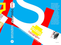 Swiss Typography Book Jacket Design