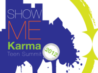 Logo: 2012 Show Me Karma Teen Summit