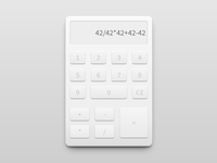 Creamy Calculator - Darkcss3 side