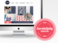 Sarahdipity Photos ( branding + web design )