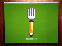 Projectfork Pencilfork Icon