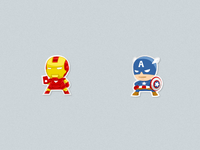 Avengers - Iron Man/Captain America