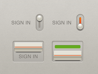 Sign-in-toggle