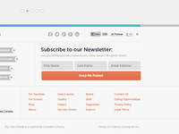 MCN Footer Reorganization