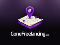 GoneFreelancing - Updated Logo