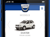 Dacia Mobile Nav - Models