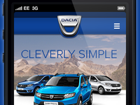 Dacia - Mobile Version
