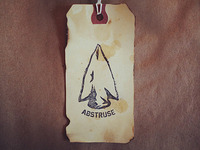 Abstruse Hang Tag