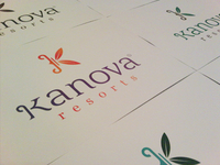 Kanova Resorts Logo Print