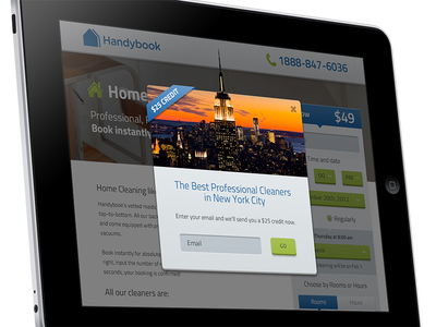 Handybook NYC Promotion