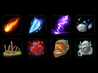 Skill Icons and Monster Icons