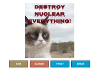 Grumpy Cat hates you - Meow!