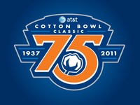 AT&T Cotton Bowl 75th Anniversary