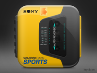 Sony Walkman Sports icon