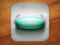Design Boost Pill icon
