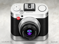 Leica X2 iOS Camera icon