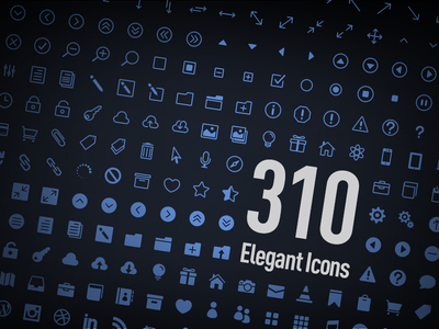 Download Elegant Icons