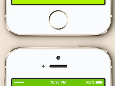 Download Vectored iPhone 5S Mockup