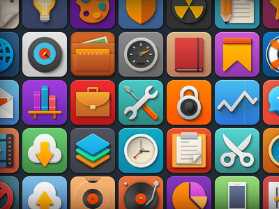 "Download Free Icon Set ""Softies"""