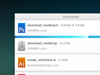 Download Modal