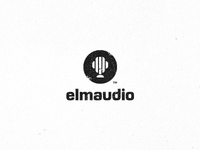Elmaudio Logo Design