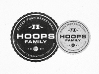 Hoops Family Badge Of Honor
