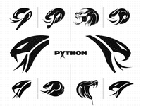 Python Safety - Logo Design Concepts