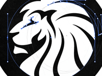 Reconstructing the Lion Head Logo