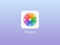 iOS 7 Photos