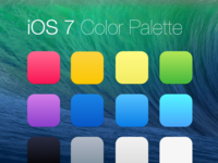 iOS 7 Colors on Mavericks bg
