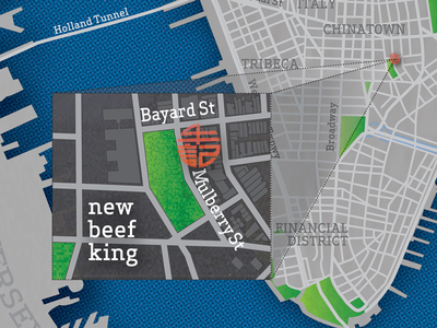 Favorite Places in NYC Map for Time Out New York