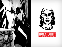 Holy Shit! - logo