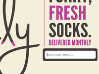 Sock.ly Sign-up