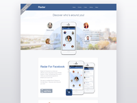 Radar For Facebook website