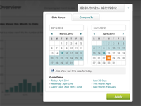 Analytics Date Picker