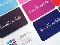 Danielle Nichole Business Cards