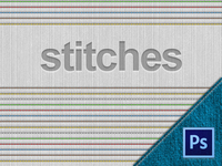 Stitches - Free PSD