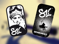 Stickers for snowboards.cz