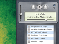 Itunes Notification Center Concept