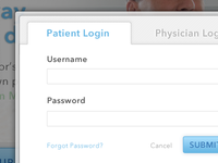 Login (for your health)