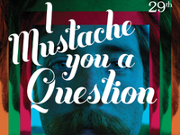 I Mustache You A Question Flyer