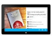 Twitter Windows 8 official app pitch work