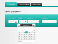Internal booking system