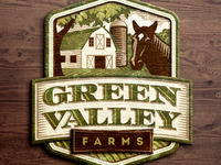 Green Valley Farms Signage