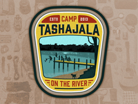 Camp TASHAJALA Patch