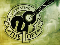 The Loft 20th Year Anniv. Logo