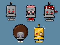 The Faces of Lovebot