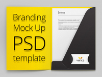 Our basic branding mock up (Free PSD)