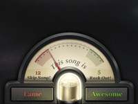 Awesomeness meter for Turntable.fm