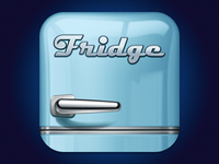 Fridge iPhone logo/icon
